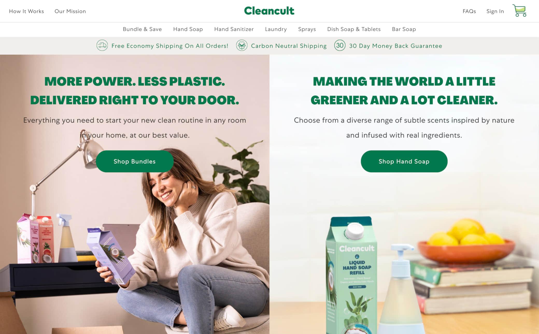 Cleancult Screenshot Main