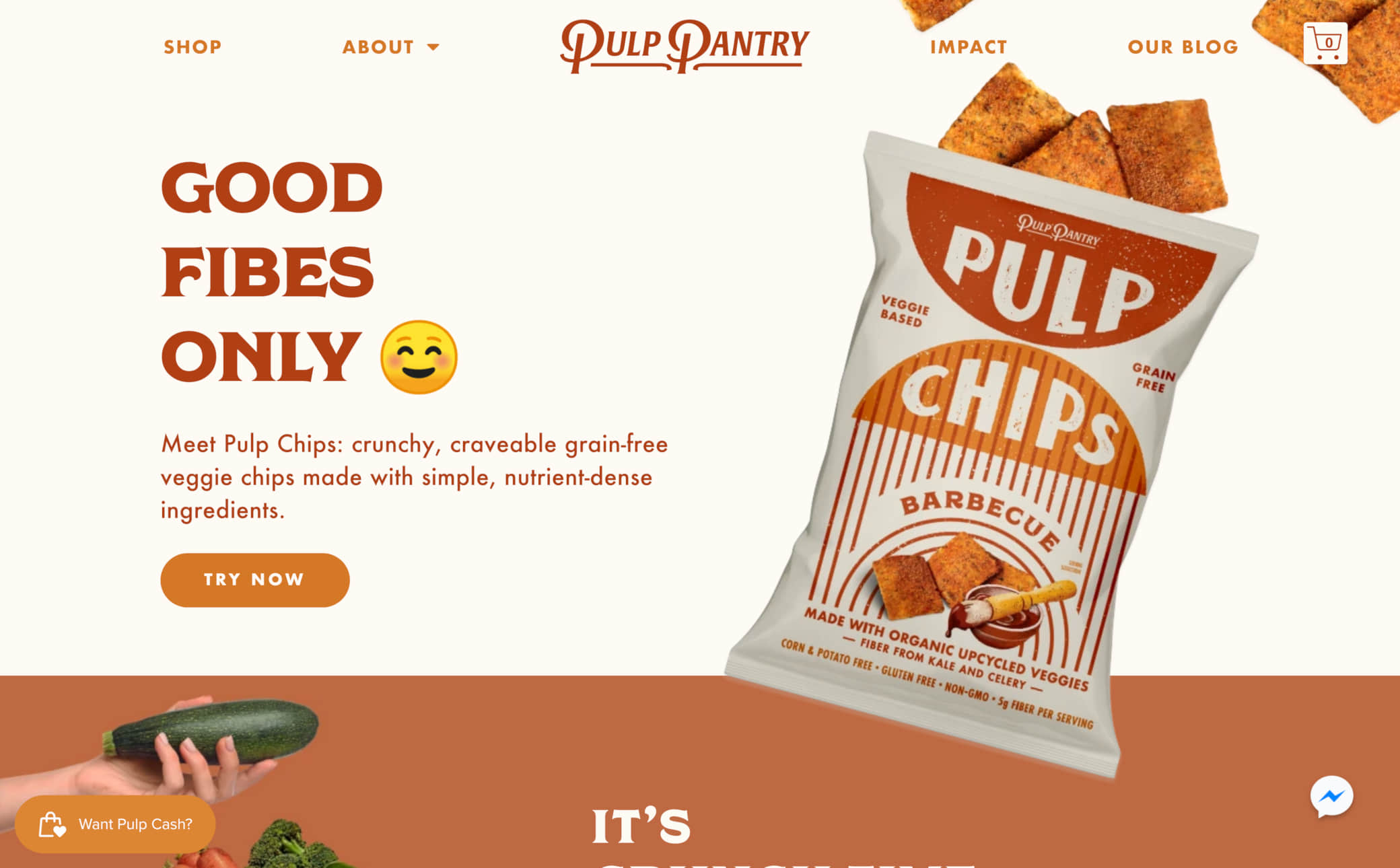 Pulp Pantry Screenshot Main