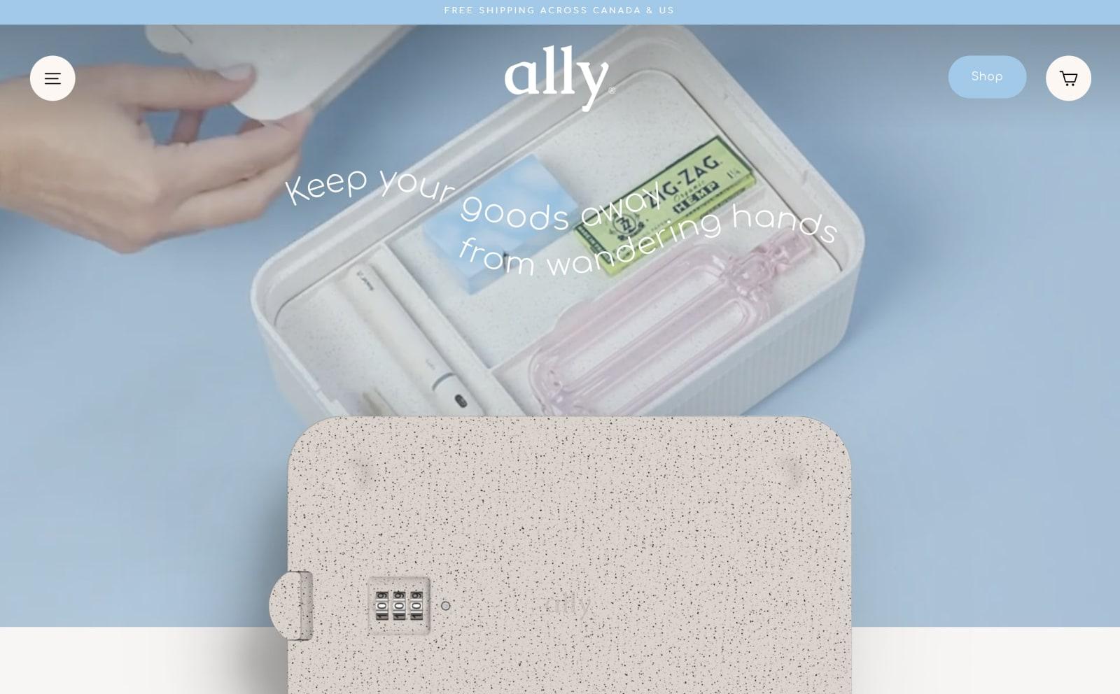 Ally® Screenshot Thumbnail
