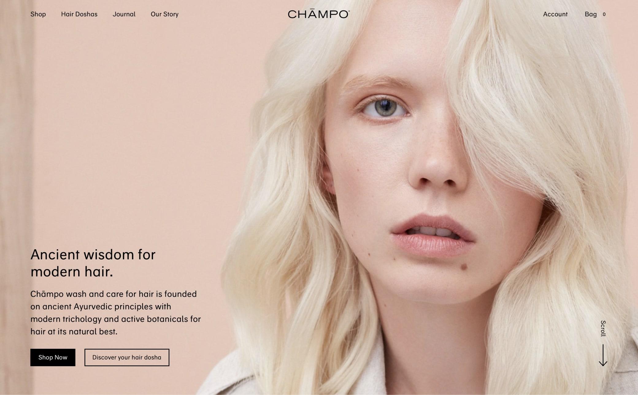 Chāmpo® Screenshot Main