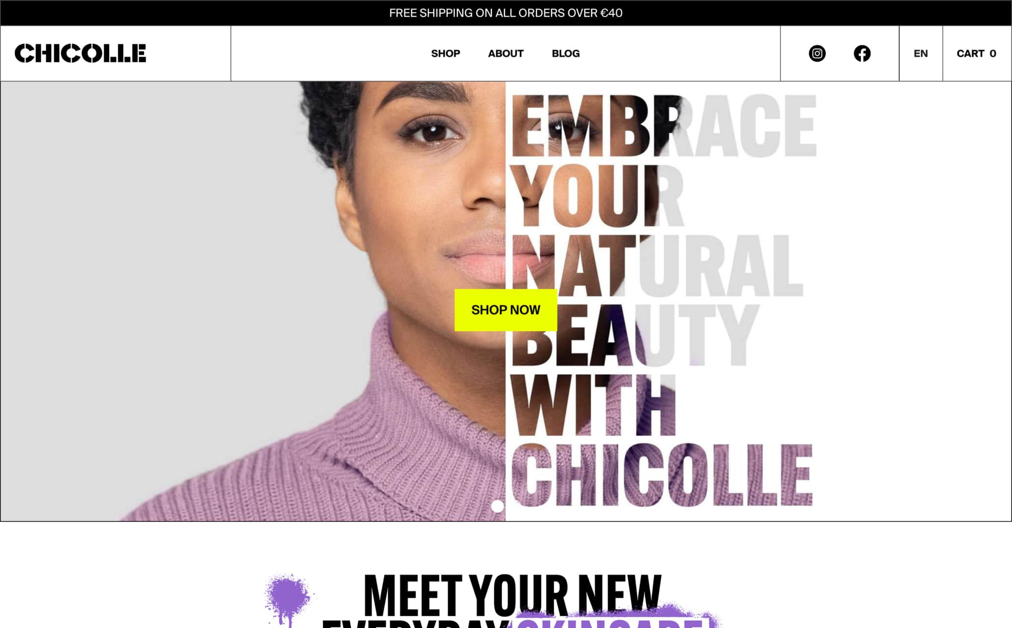 Chicolle Screenshot Main