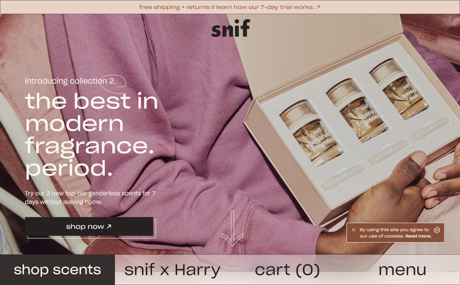 Snif Screenshot Thumbnail