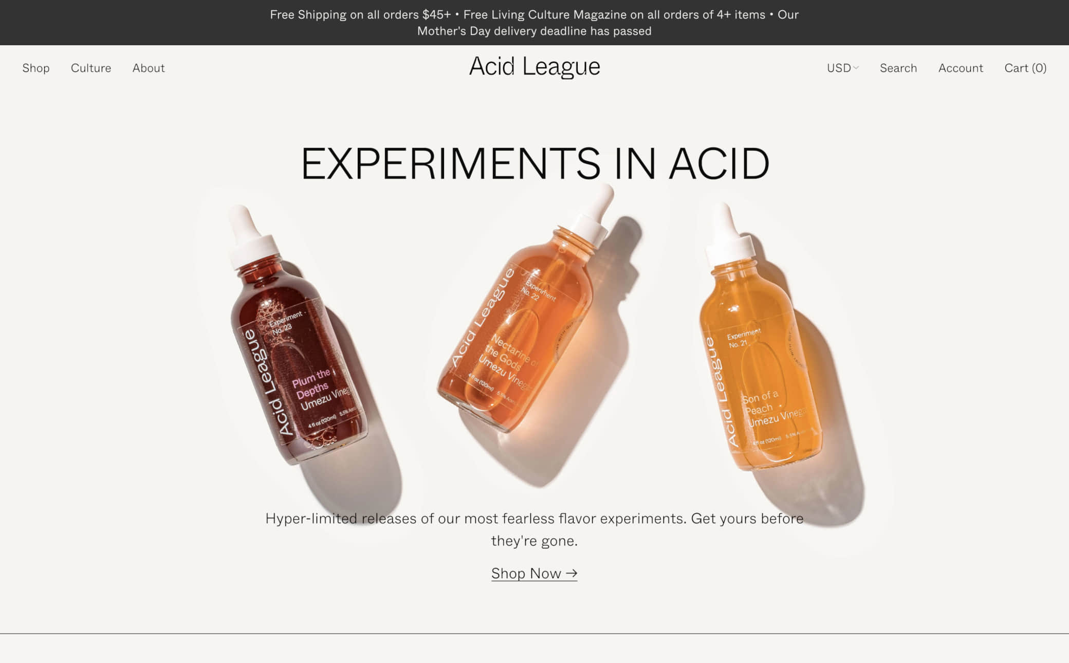 Acid League Screenshot Main