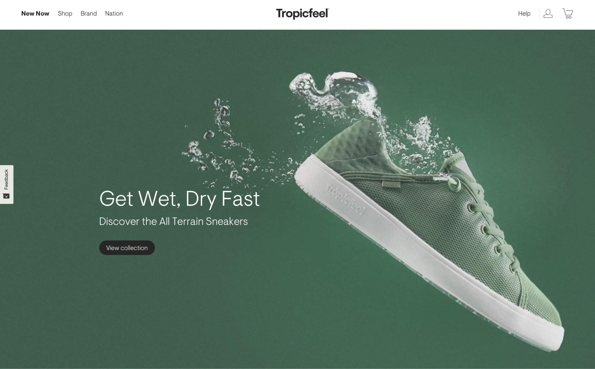 Tropicfeel Screenshot Main