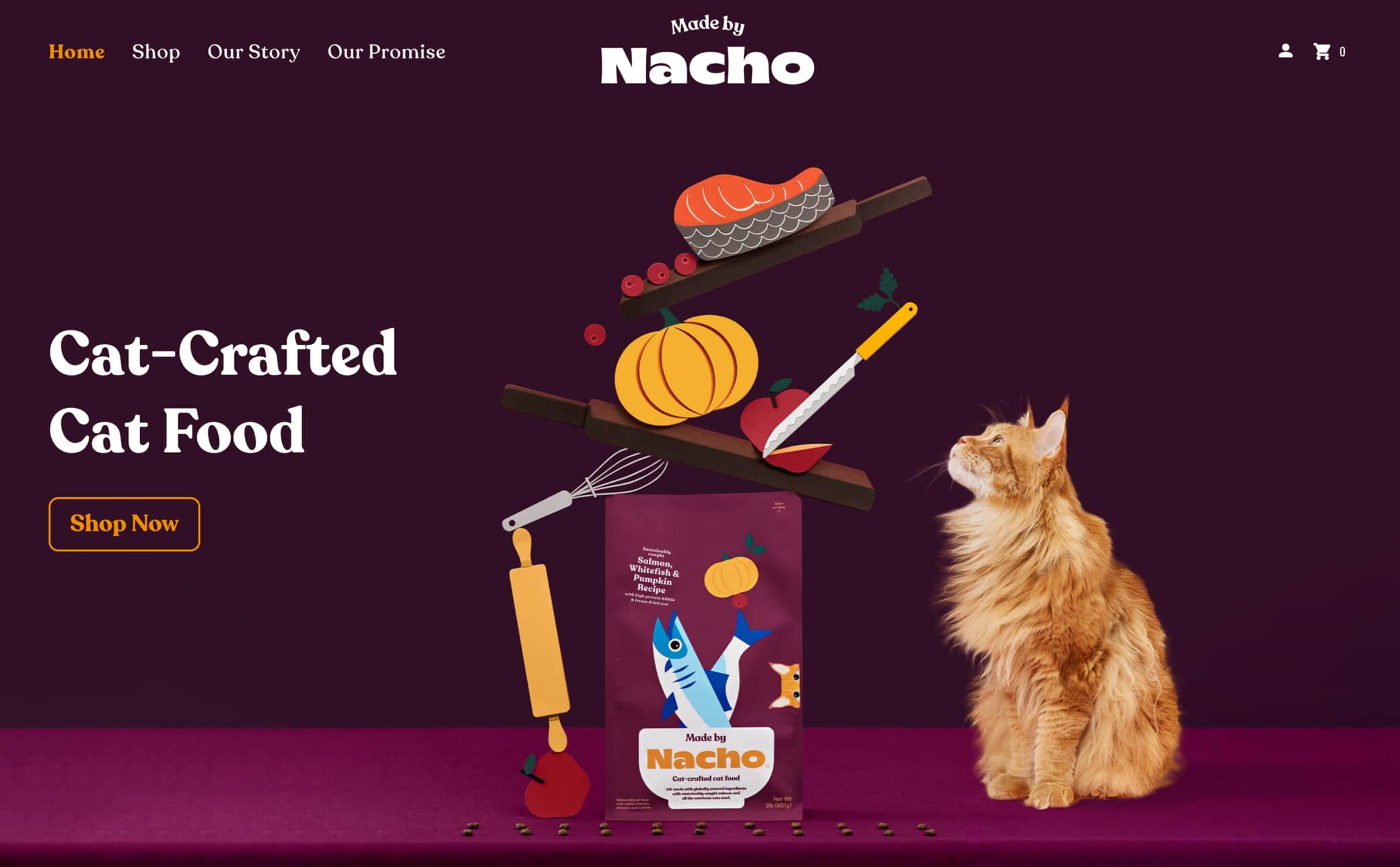 Made by Nacho Screenshot Main