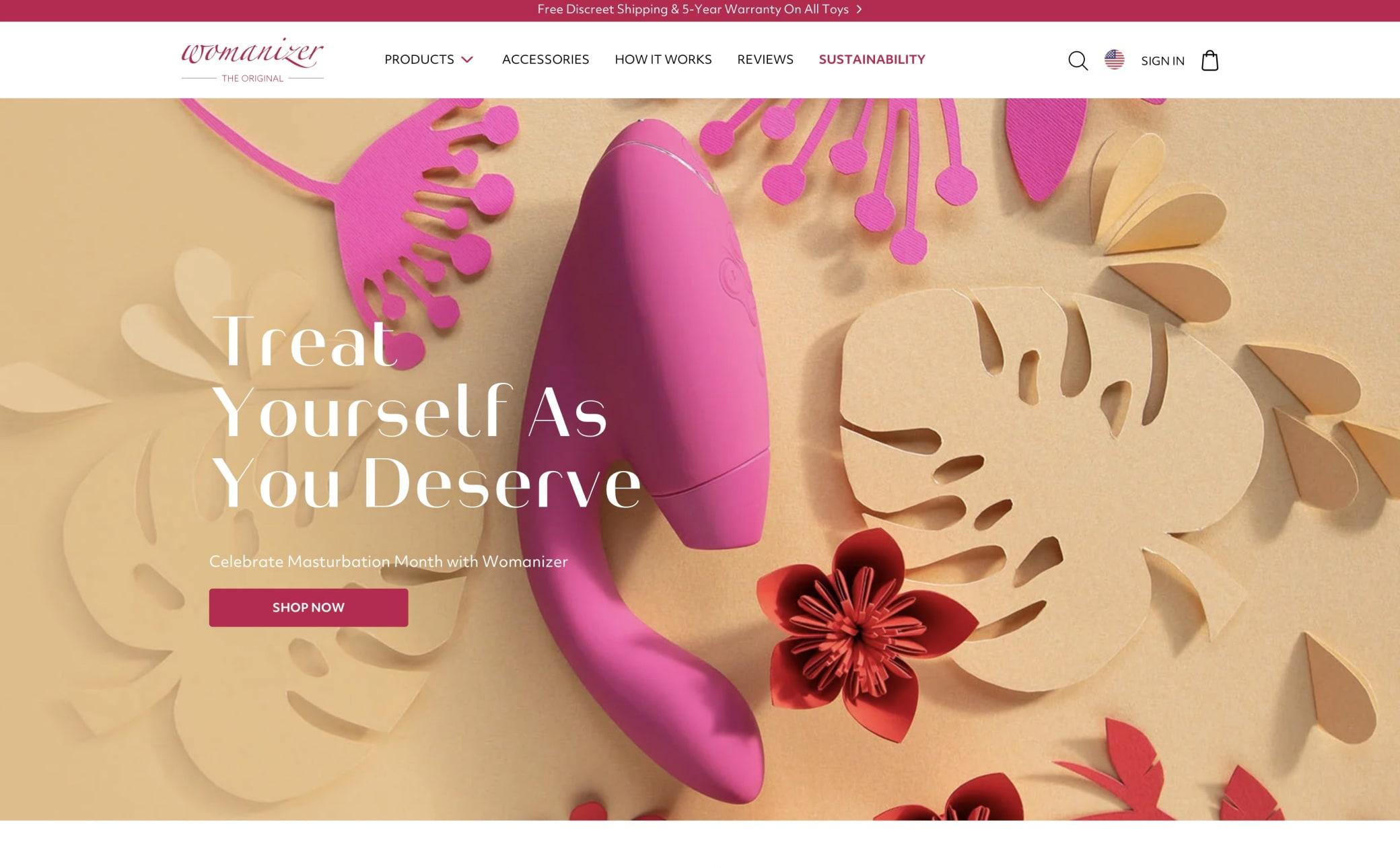 Womanizer Screenshot Main