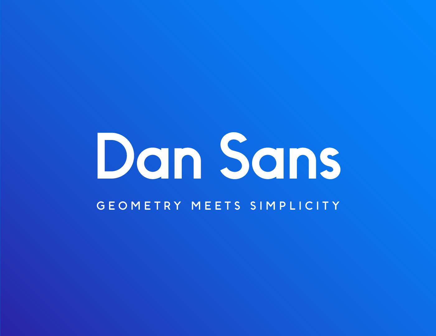Dan Sans Font