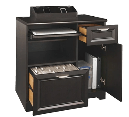 File storage unit with drawers for office organization