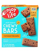 Box of Enjoy Life soft baked chewy bars