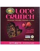 Box of Love Crunch organic granola bars