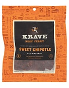 Krave beef jerky sweet chipotle