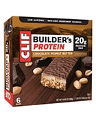 Box of Clif builder protein bars to include in your office