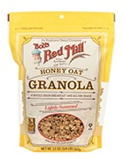Bag of Bob's Red Mill Honey Oat Granola