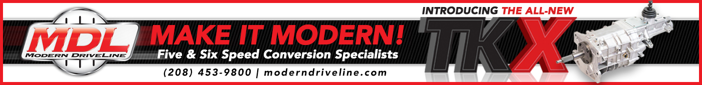 Modern Driveline Banner Ad