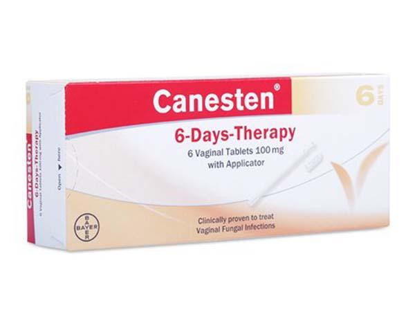 Viên đặt phụ khoa Canesten