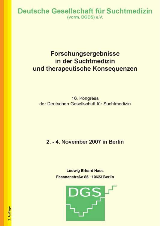16. Jahreskongress, 2007