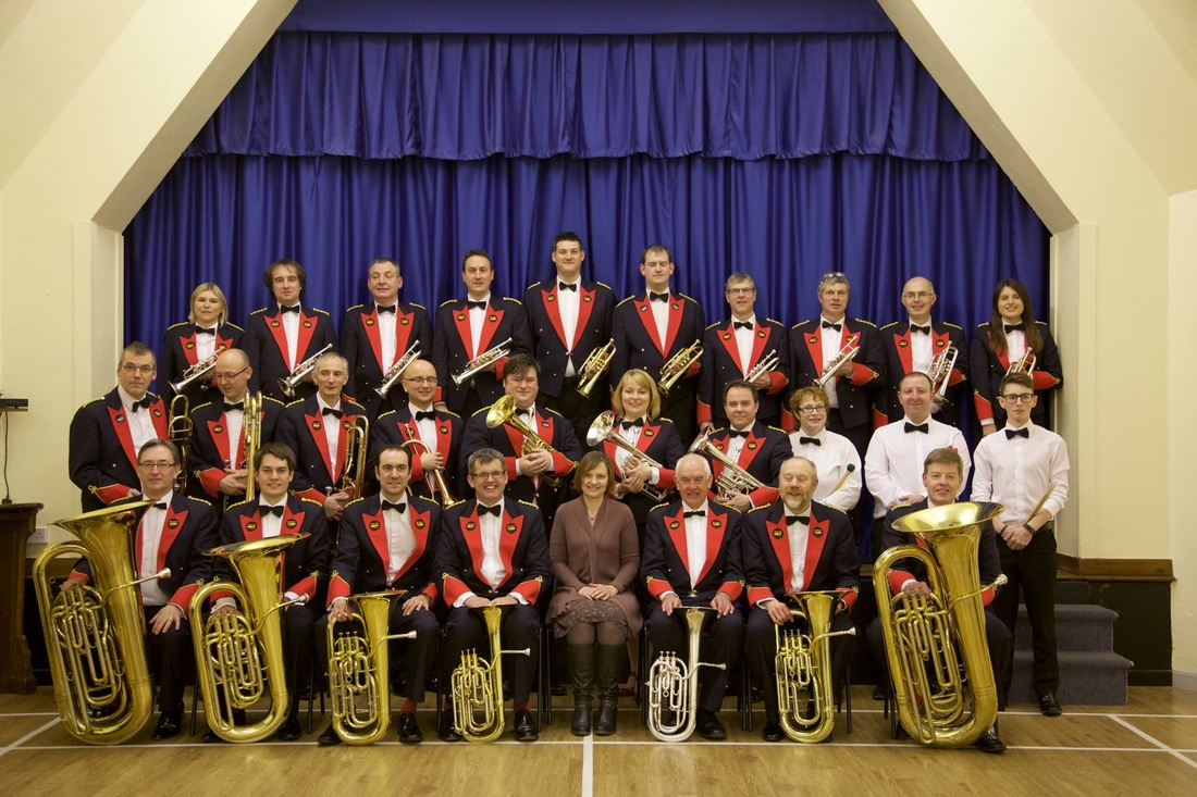 Antiphonary, with Aldbourne Band, February 2016
