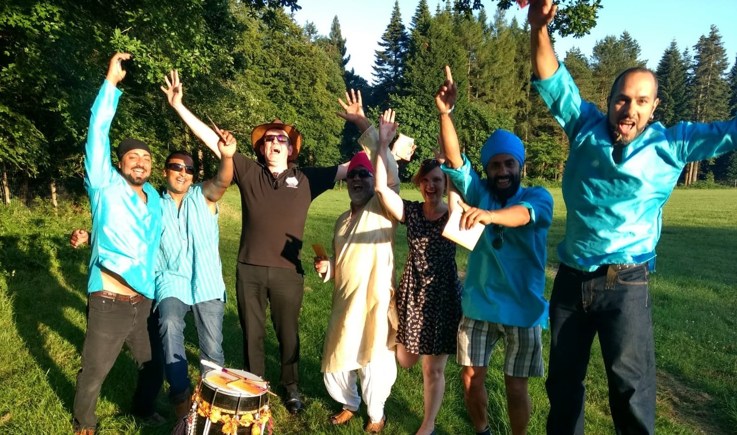 Surtaal Suite No. 1, RSVP Bhangra, Lydbrook Band, Ian Holmes, Proms in the Park, Speech House, 30 June 2018