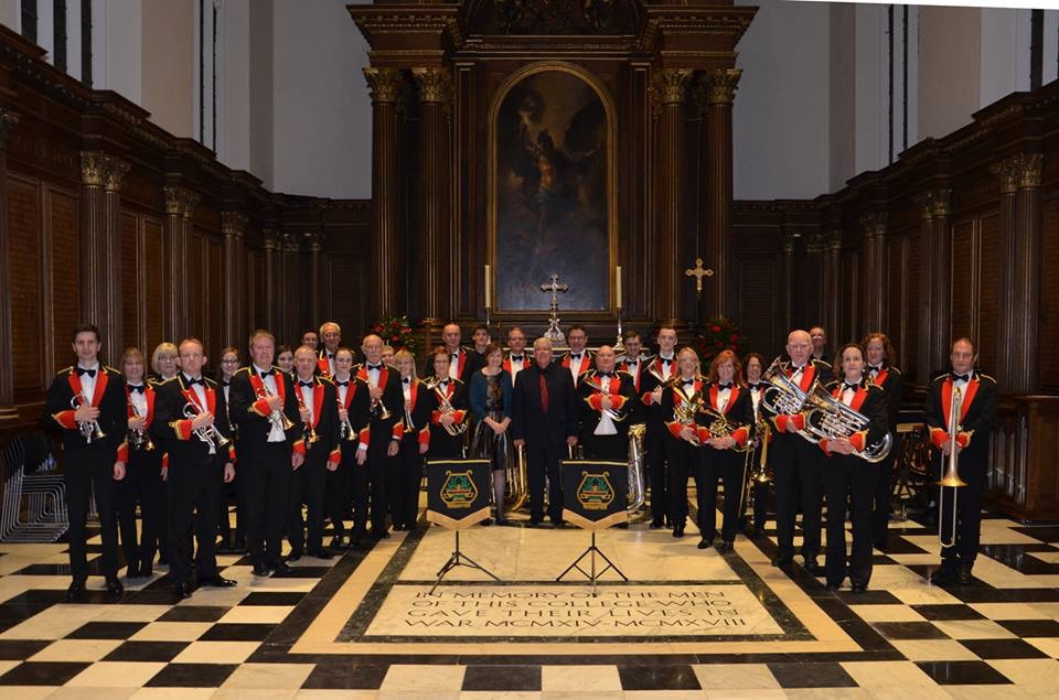 Silver Rose (narrator Micha Lazarus) and premiere of Stars are not too far, Lydbrook Band, Ian Holmes, Trinity College Cambridge, 10 November 2018