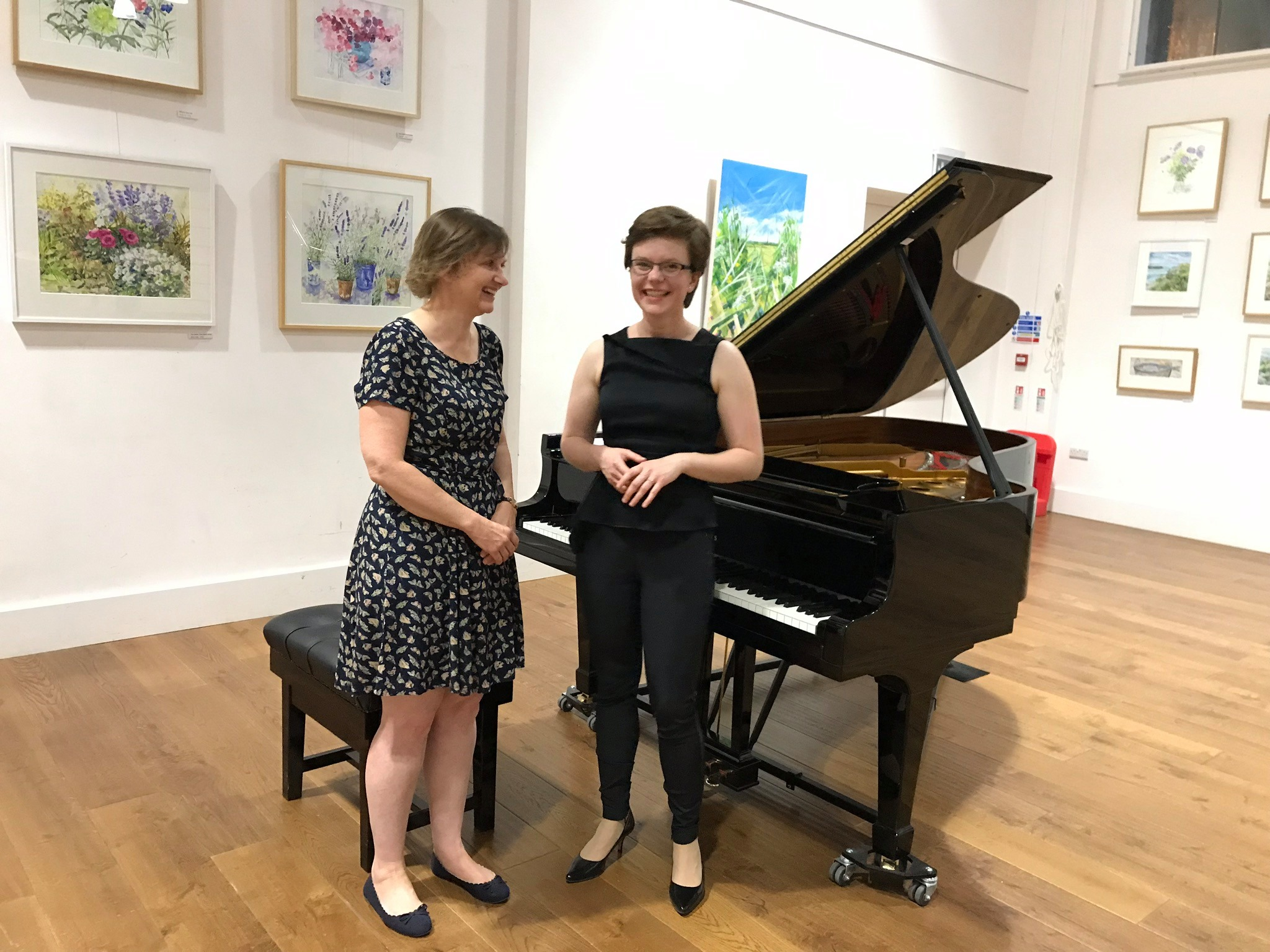 Ballad, Clare Hammond, Tetbury Goods Shed, 12 July 2019