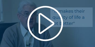Provider testimonial video