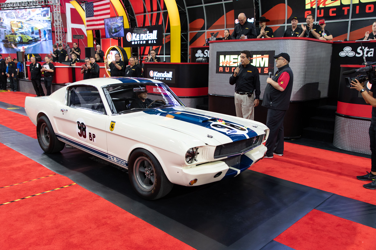 Ken Miles GT350 at auction