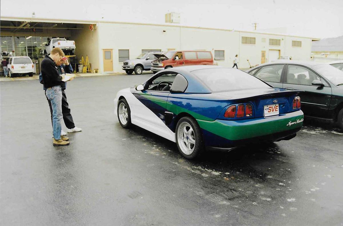 2991 SVE Super Stallion rear