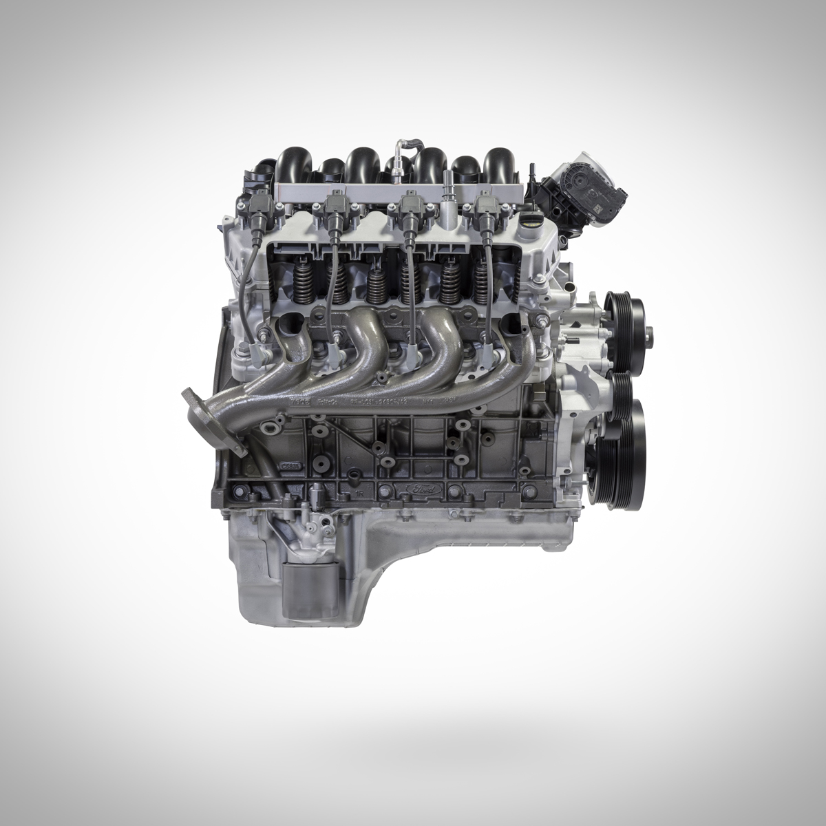 7.3L V8 Ford crate engine from Ford Performance cut away side