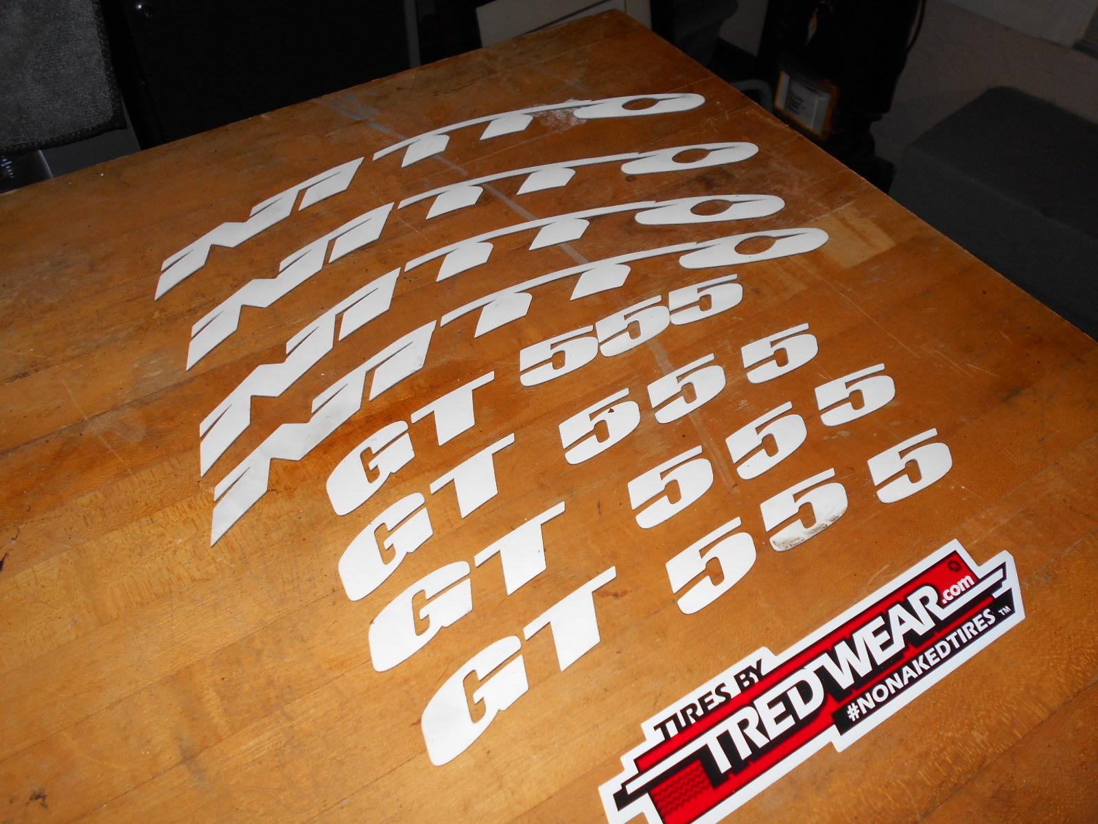 Tire sticker kit from Treadwear