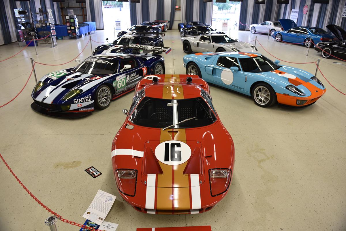 Group of original GT40's