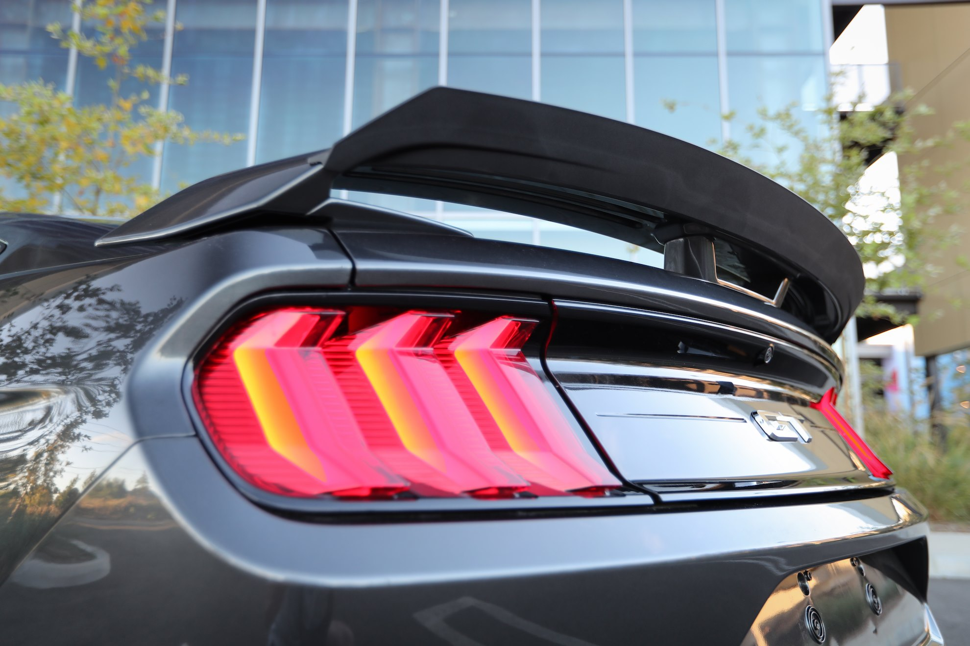 Mustang RTR Design Package rear wing