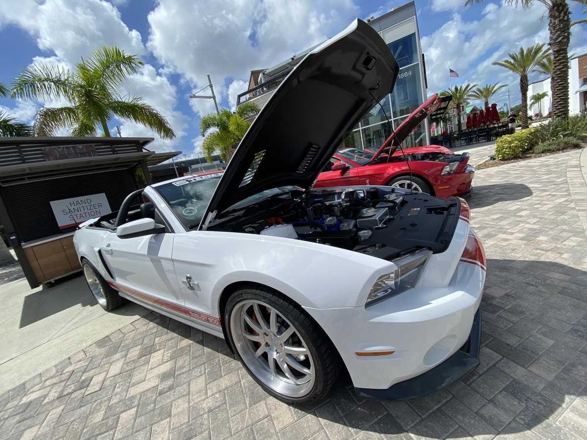 Shelby GT500 Super Snake convertible