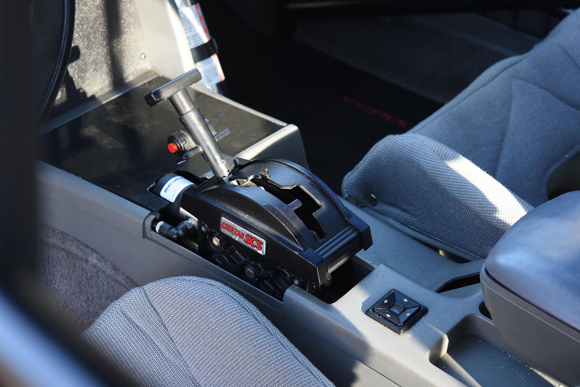 1988 Fox-body Mustang race car shifter