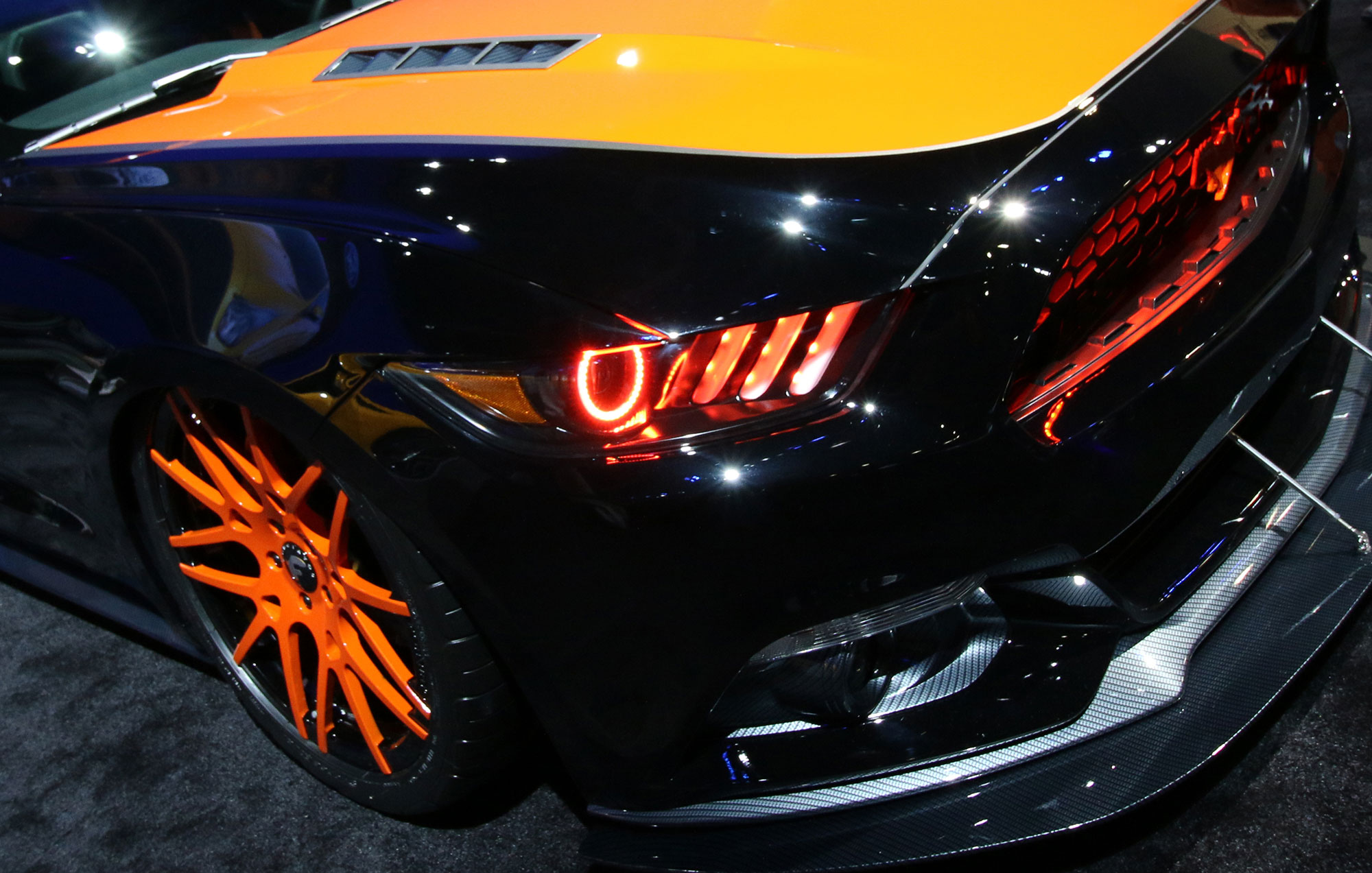 Oracle headlights for S550