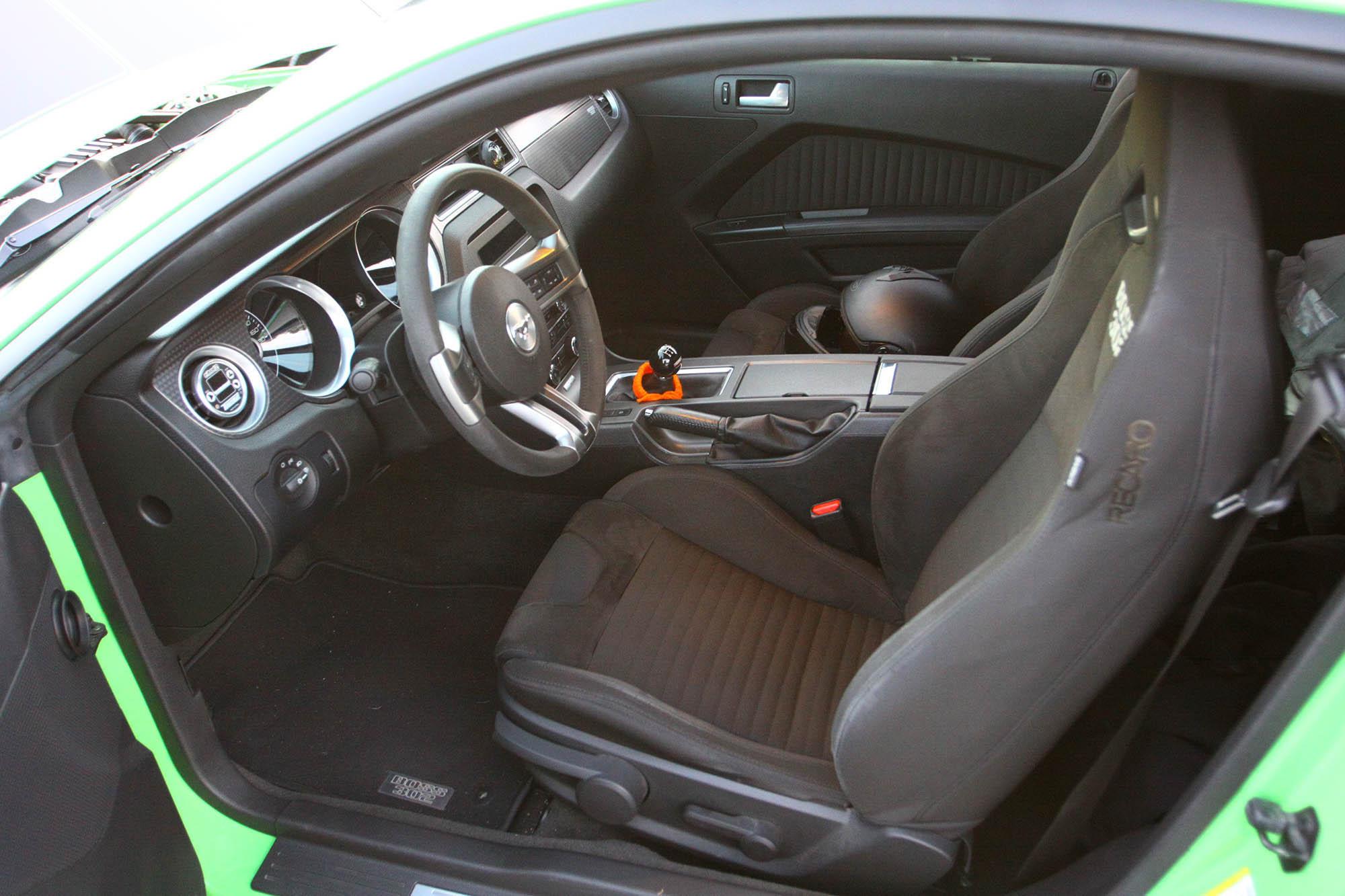 2013 Boss 302 interior