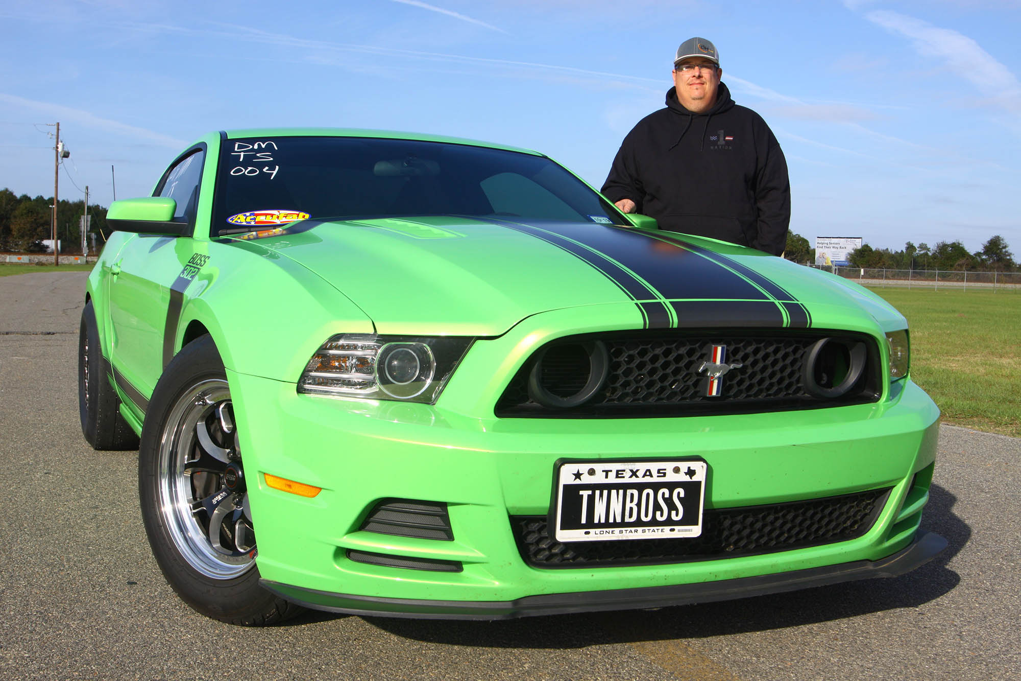 Jeff and his 2013 Boss 302