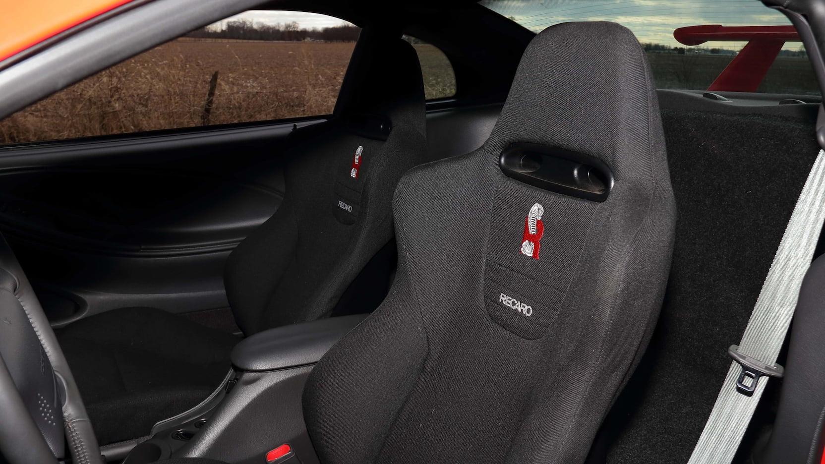 2000 Cobra R interior