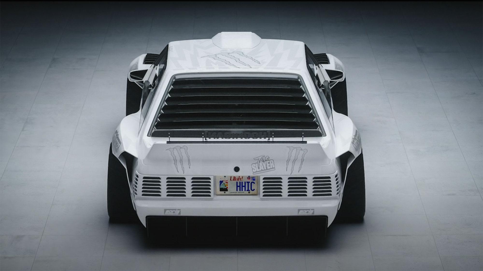 Hoonifox concept rear