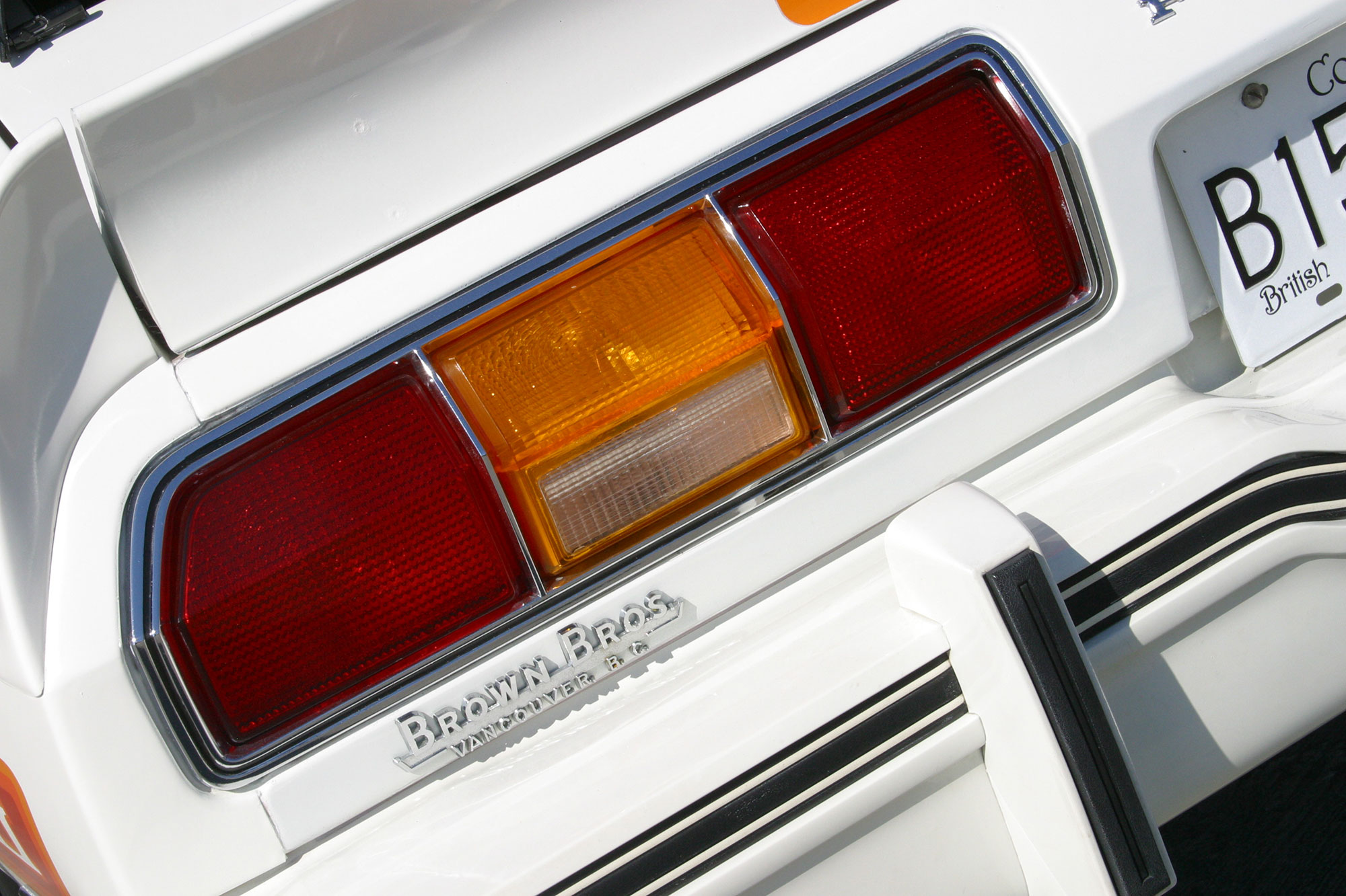 Mustang II taillight