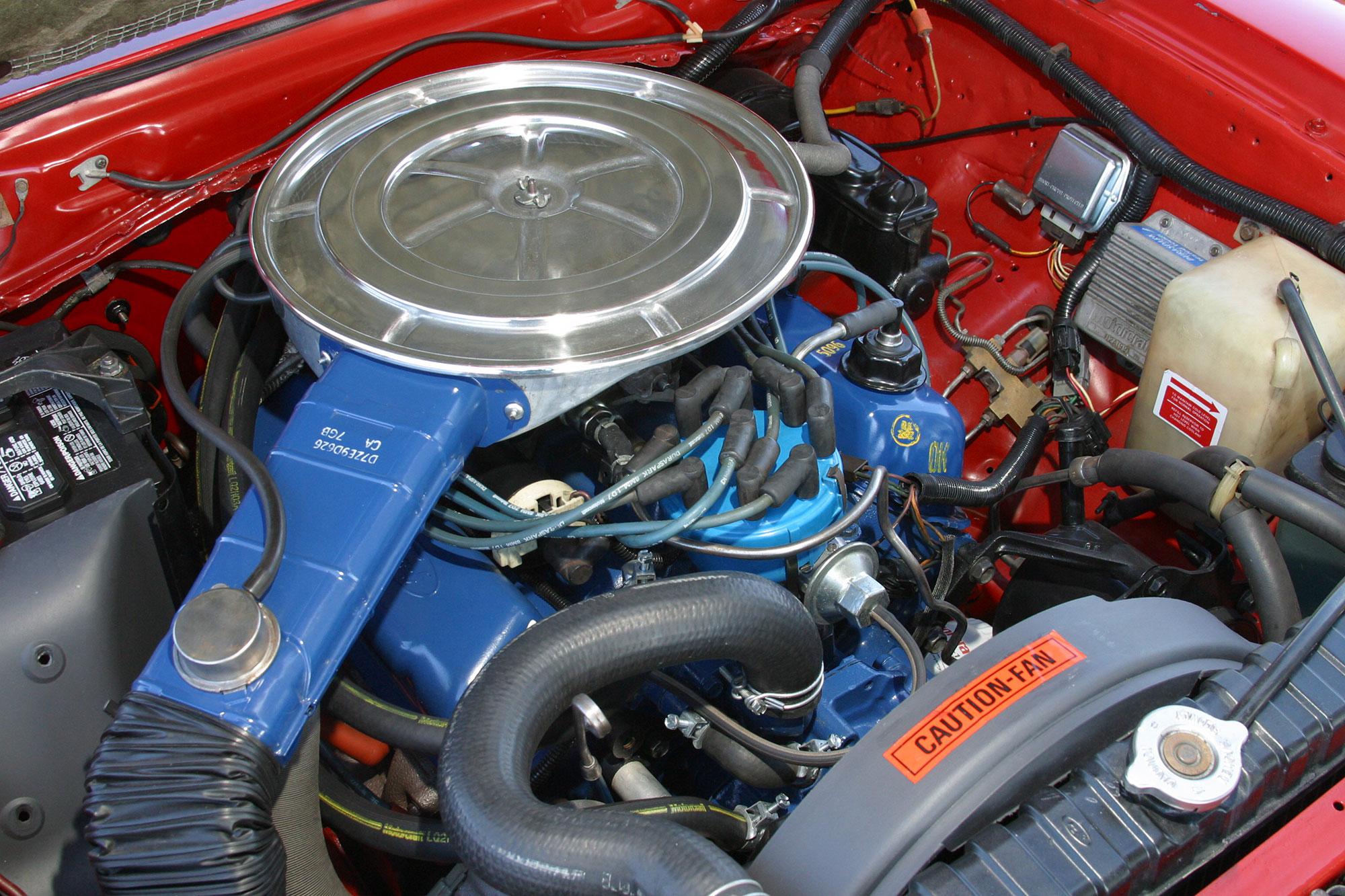 Mustang II 302 engine