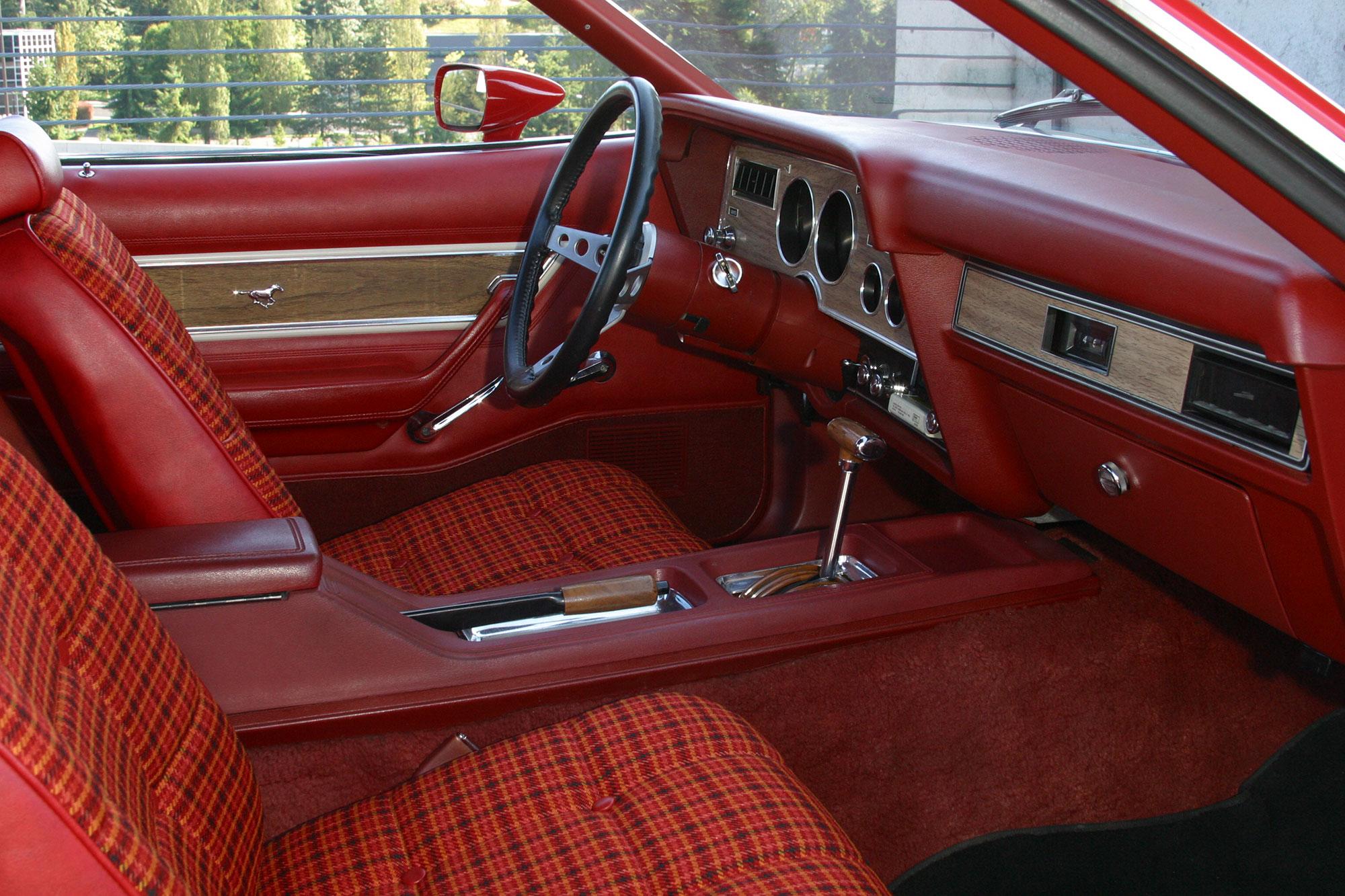 Mustang II interior