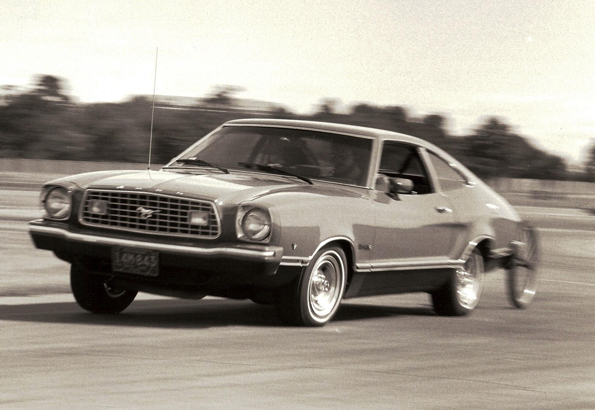 Mustang II road testing