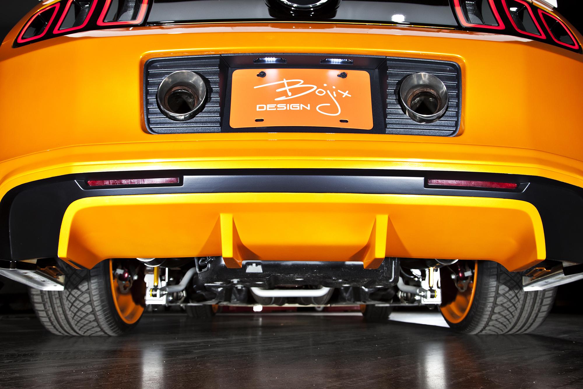 Bojix Mustang GT rear suspension