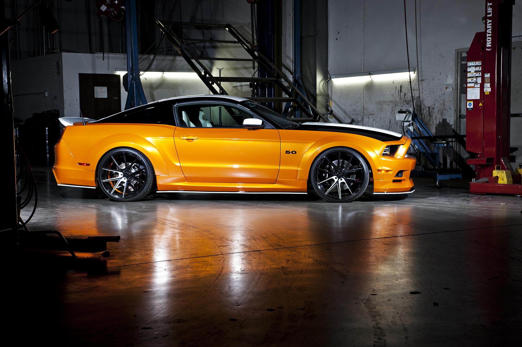 Bojix Mustang GT side profile