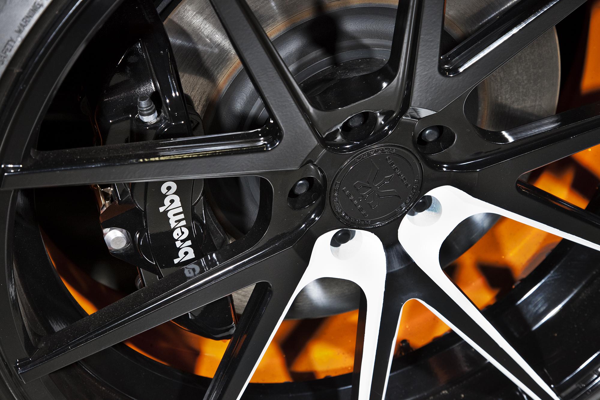 Bojix Mustang GT wheel detail