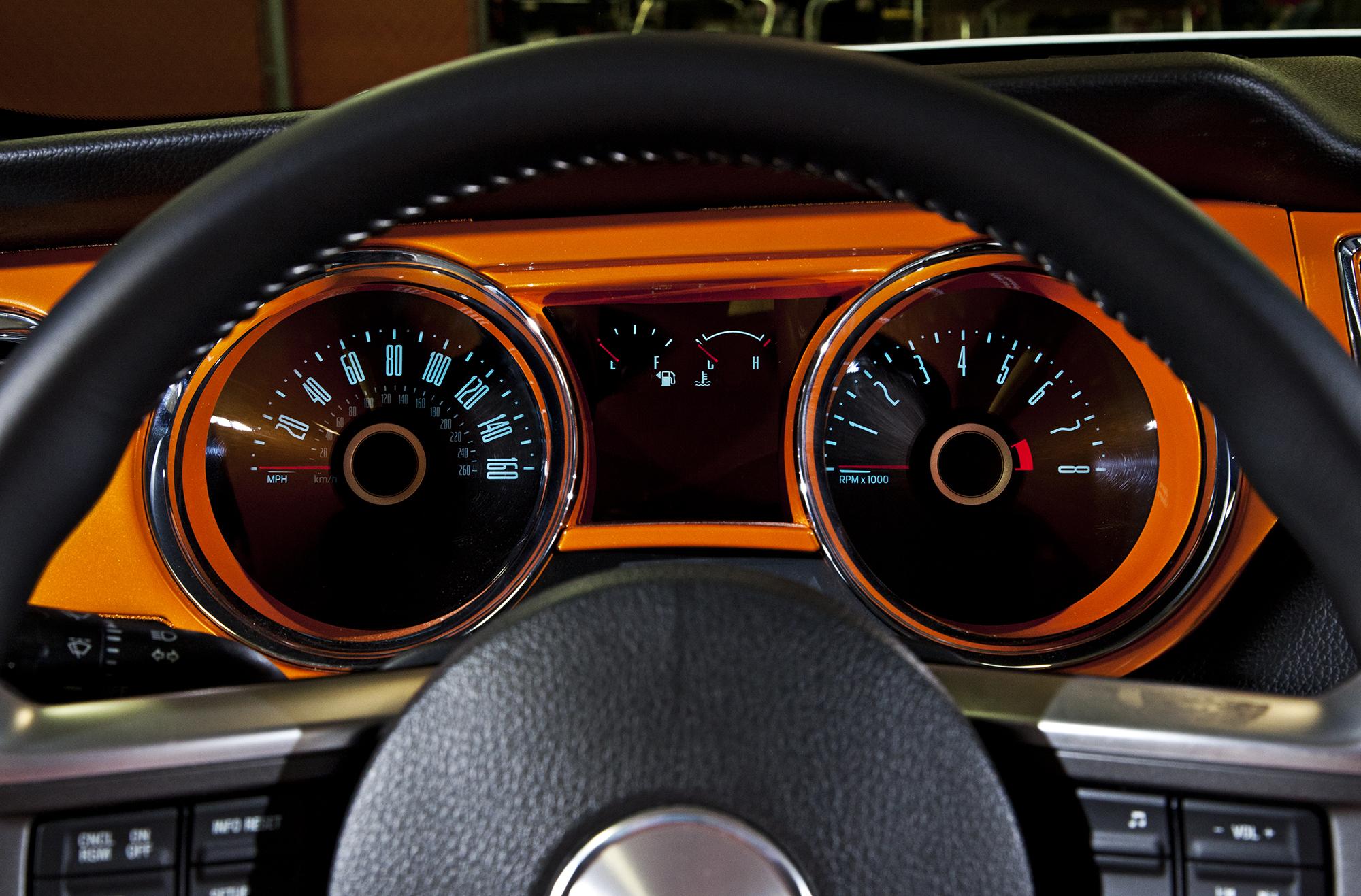 Bojix Mustang GT dash detail
