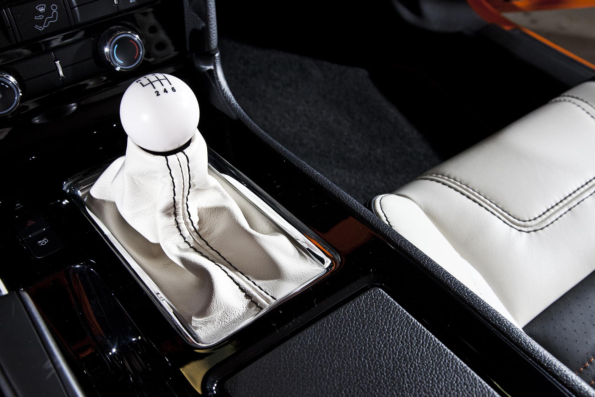 Bojix Mustang GT shifter