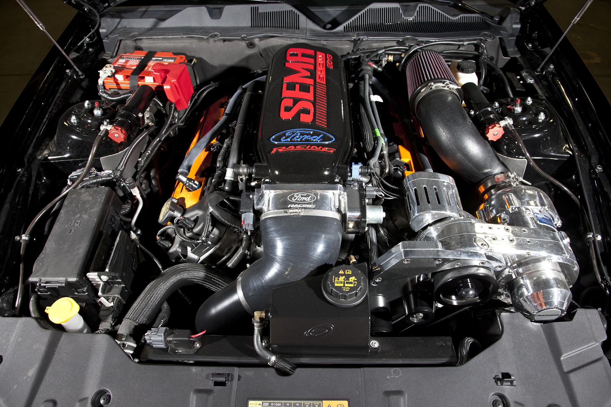 Bojix Mustang GT engine