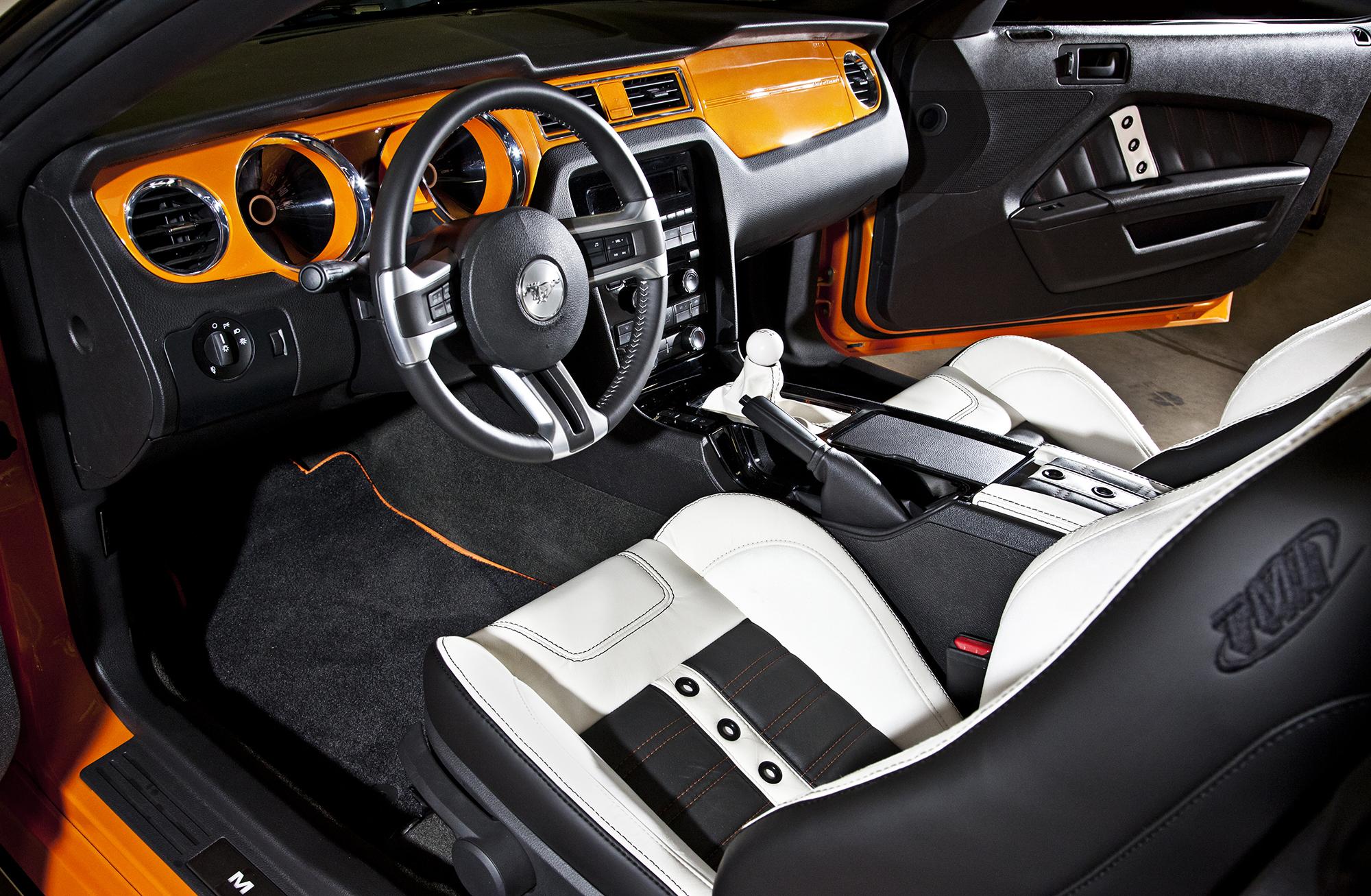 Bojix Mustang GT Interior