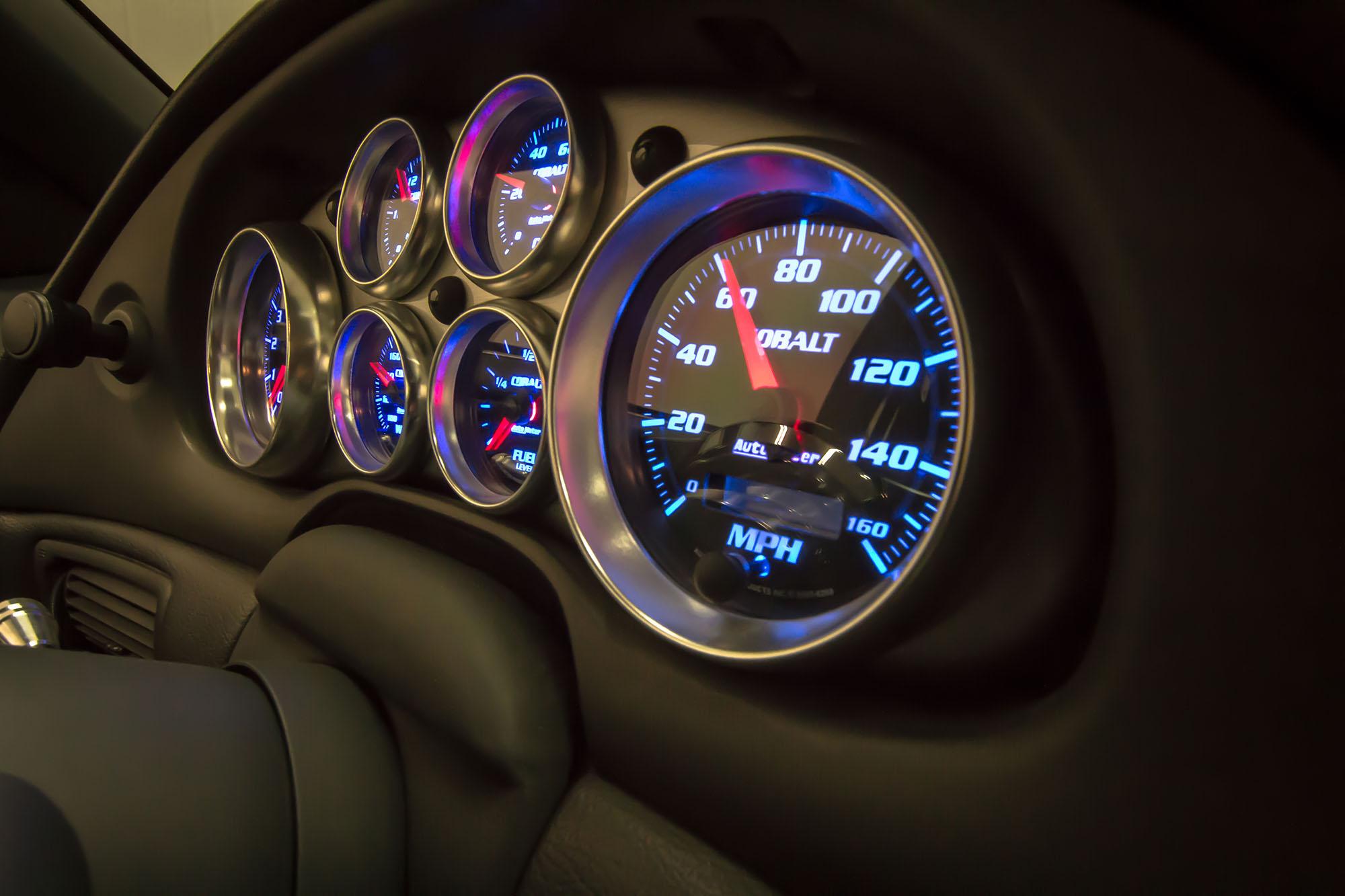 1991 Notchback Mustang instrment cluster
